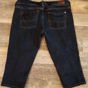 Bullhead Shorts - Denim Capris